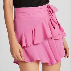 Express ruffled skirt